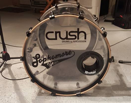 Kick Drum Head Decals CT
