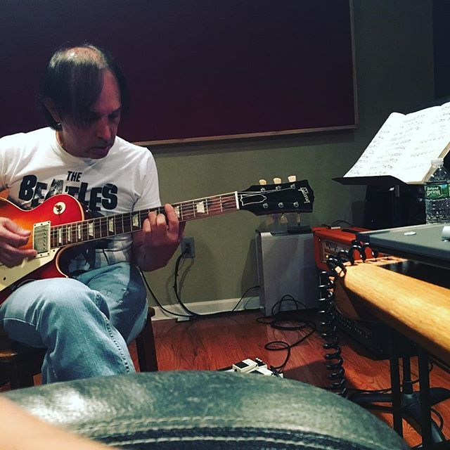 Recording Studio Sure Sound Al Ferrante Guitarist