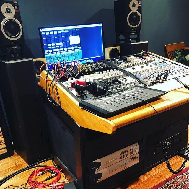 Recording Studio Sure Sound Console